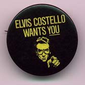 Elvis Costello Gallery Cd S Cdr S Buttons Pins Badges